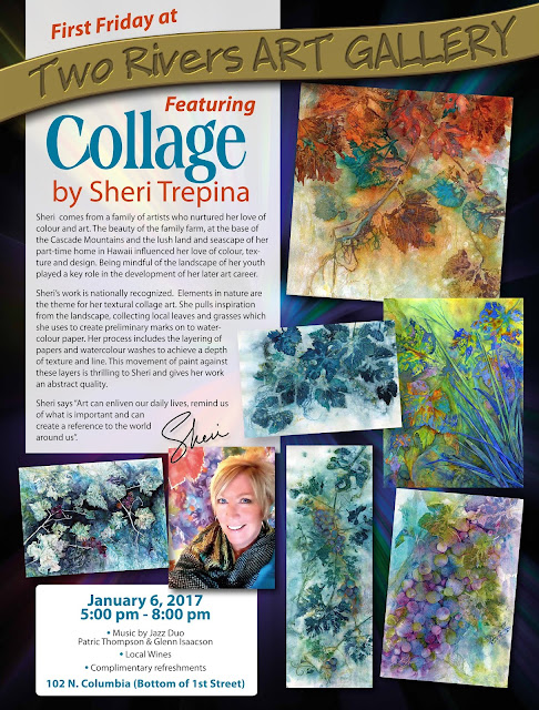 Featured Artist Sheri Trepina at Two Rivers Gallery
