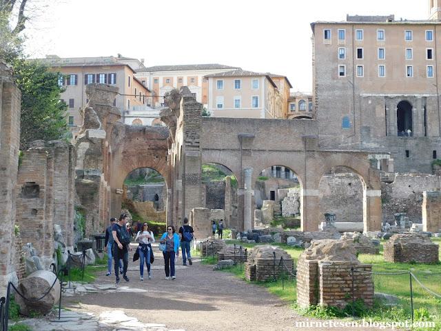 Римский Форум - Базилика Юлия