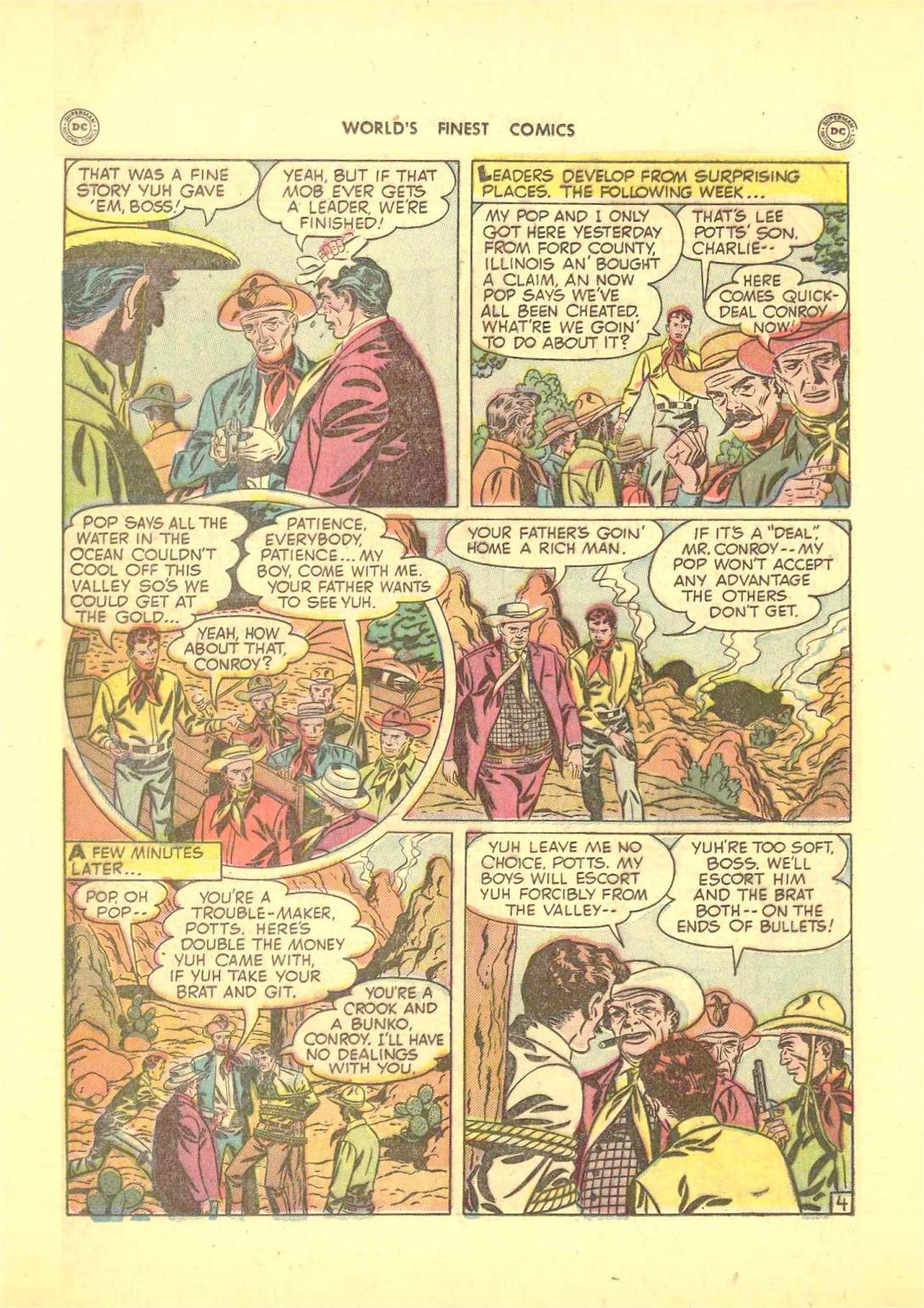 Read online World's Finest Comics comic -  Issue #50 - 42