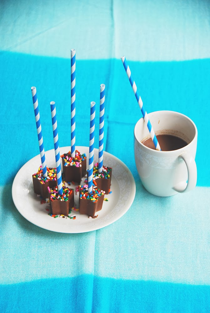 The Pink Doormat Hot Chocolate On A Stick