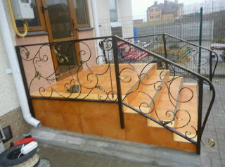 Перила для уличных лестниц Волгоград