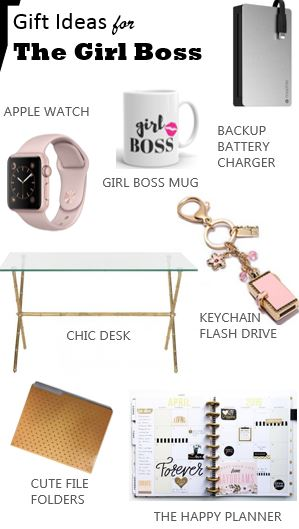 Gift Ideas for The Girl Boss