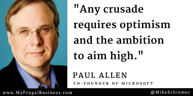 Paul Allen quoting