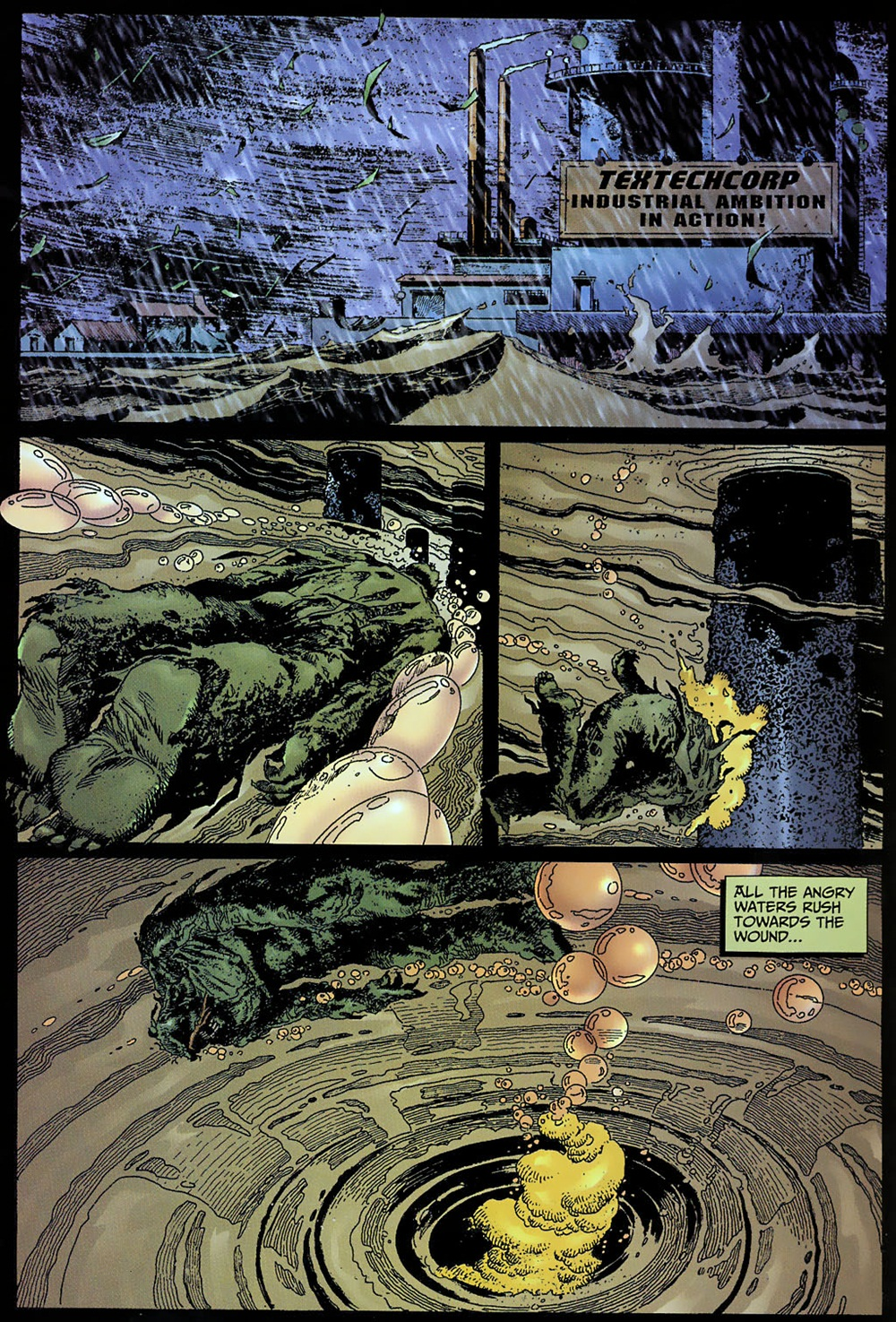 Swamp thing v4 017 reading comics online for The thing free online