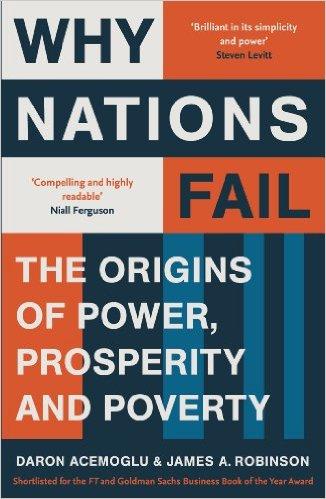 كتاب (لماذا تسقط الأمم) بقلم: دارين اسميلجو وجيمس روبينسون