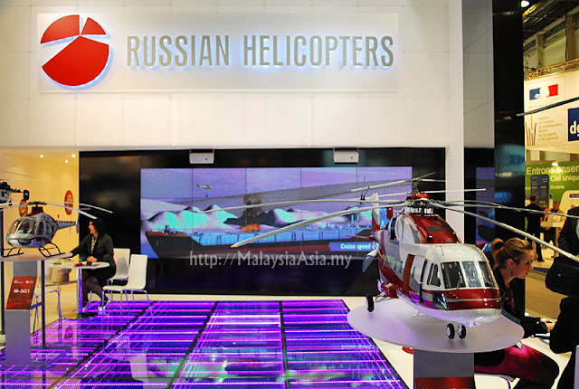 Paris Air Show Russian Helicopters