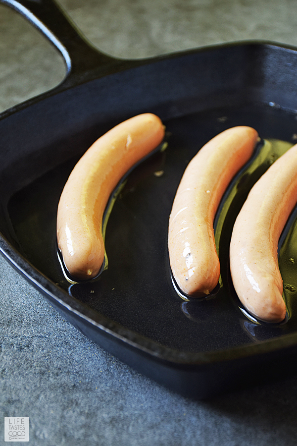 How To Cook Hot Dogs | by Life Tastes Good Hot Dogs are a summer tradition whether you grill them, boil them like the ballparks, or cook them in a skillet, hot dogs are an American classic food we love to eat. #LTG recipes #SundaySupper