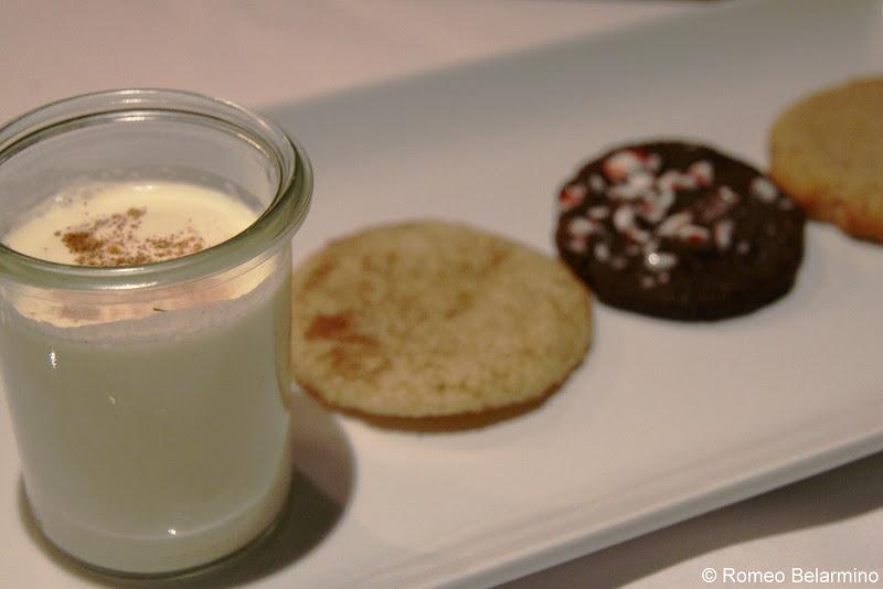 Brandy Milk Punch and Cookies The Bombay Club Réveillon Menu New Orleans