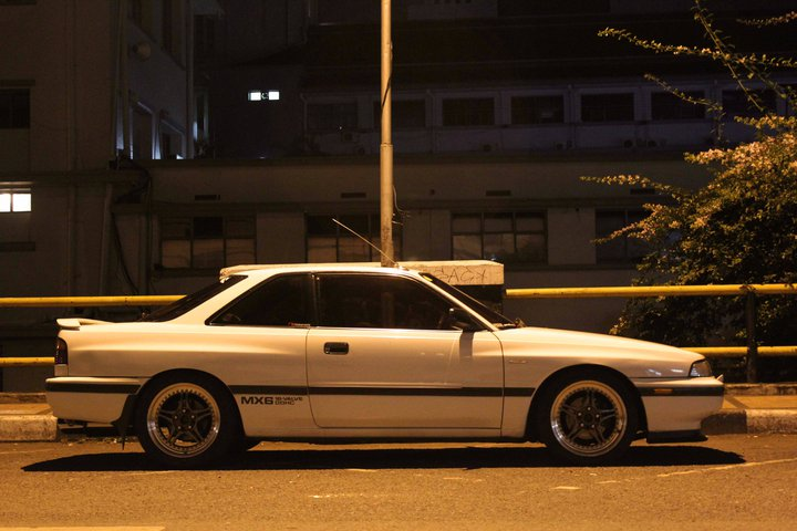 Mazda 626 Coupe GD C2 Capella japońskie coupe niedrogie tuning  日本車 マツダ
