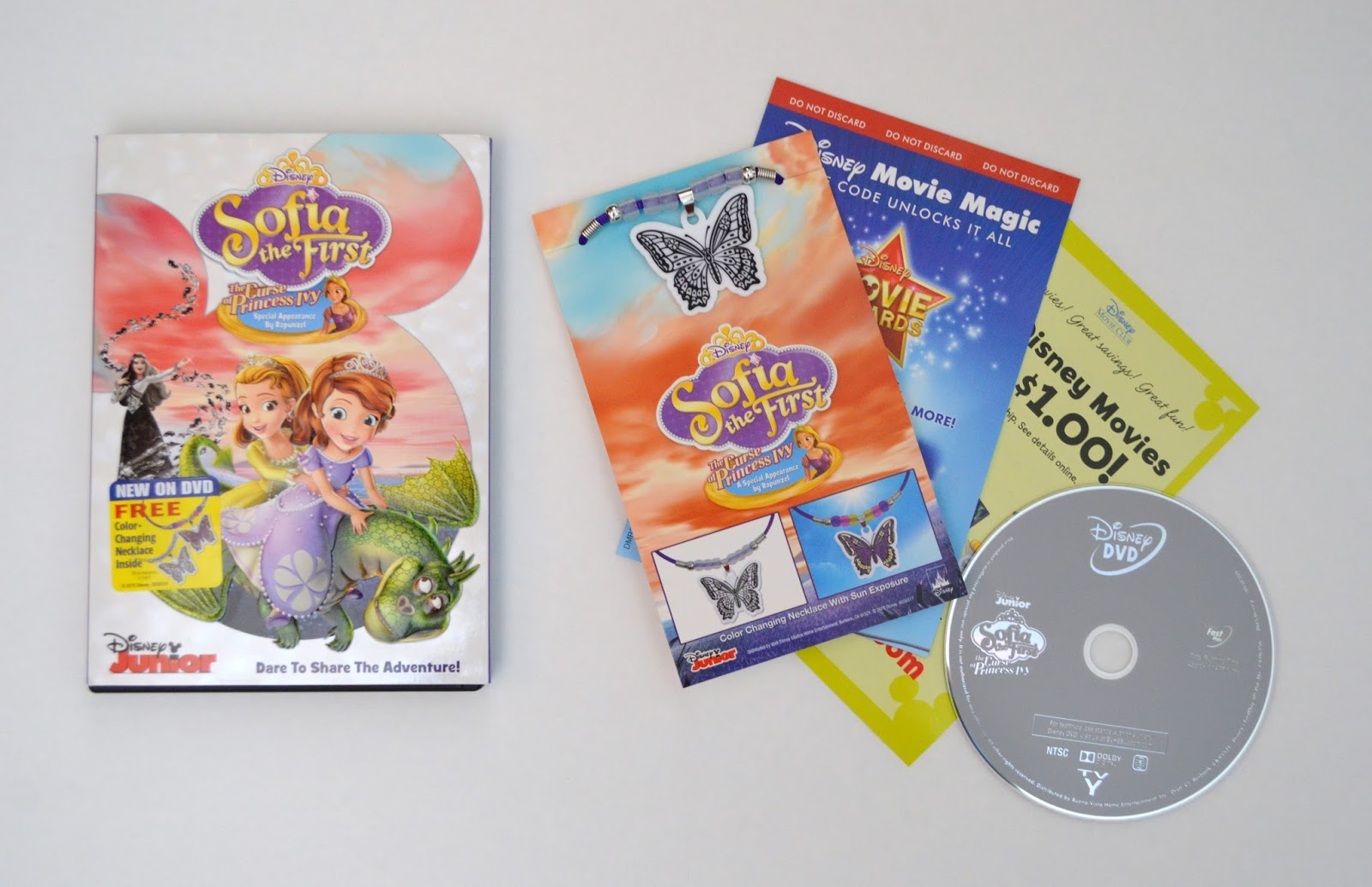 Review of Sofia The First: The Curse of Princess Ivy DVD
