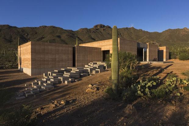 Casa en el desierto de sonora dust architects revista for Arquitectura y diseno de hoteles