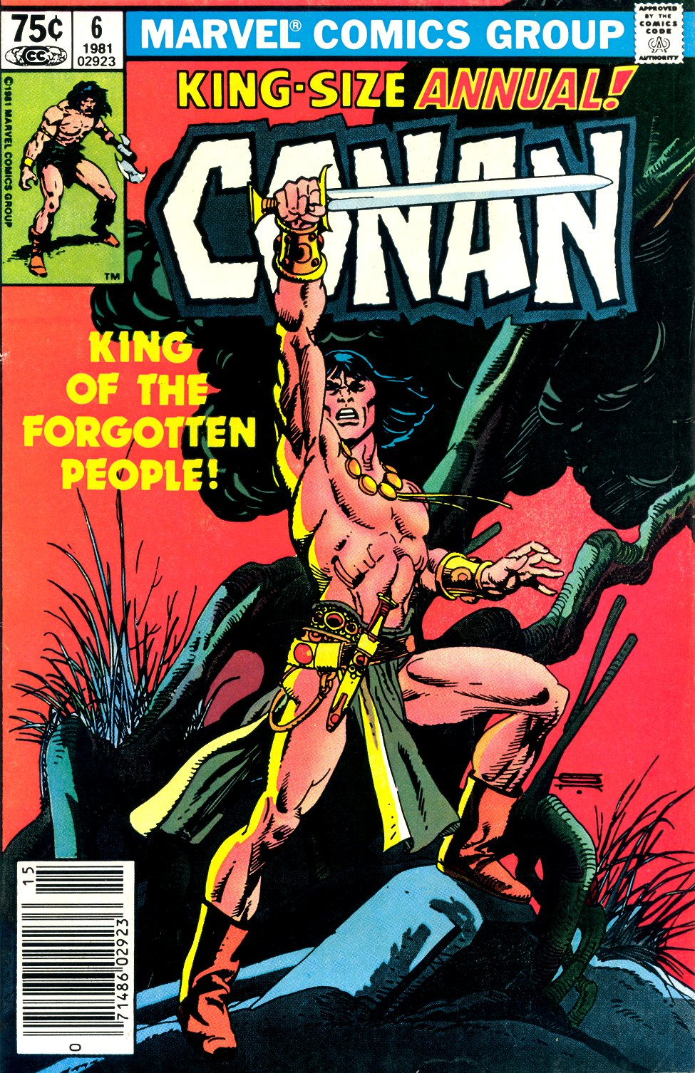 Conan the Barbarian (1970) Annual_6 Page 1