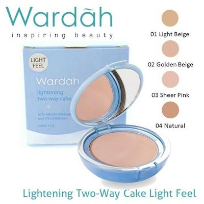 Wardah Bedak Lightening Two Way Cake SPF 15 | Jakarta | Depok | Lampung | Metro