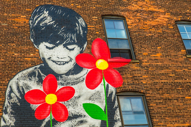 Street Art by Icy and Sot For Wall Therapy Urban Art Festival In Rochester, USA. 2