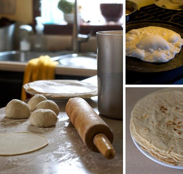 Cómo hacer tortillas de harina