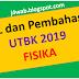 Soal Asli UTBK 2019 Fisika dan Pembahasan
