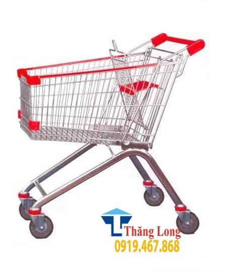 Xe đẩy siêu thị giá rẻ Hà Nội