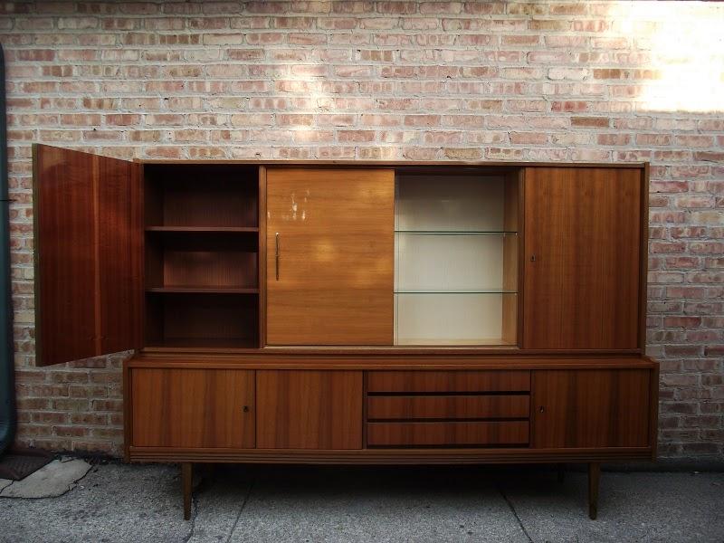 Vintage Ground: Danish Modern Mid Century Bar/China ...
