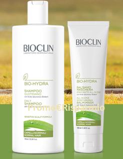Logo Bioclin ti premia con 50 kit di prodotti Bio-Hydra