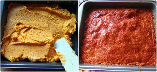 baking polenta cake