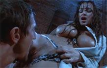 Lisa Ann fazendo sexo na chuva