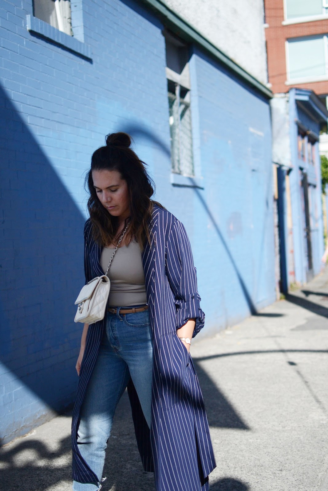 aritzia kahlo jacket vancouver fashion blogger chanel french riviera flap bag aleesha harris