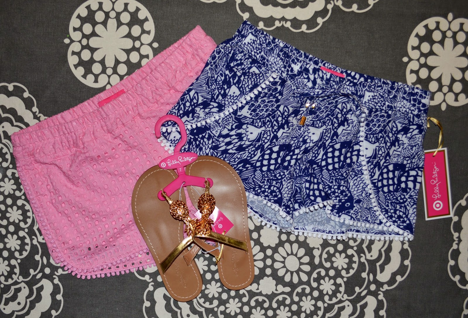 ff586a2eadaa I Love Orla Kiely  Haul + Review  Lilly Pulitzer for Target Shorts ...