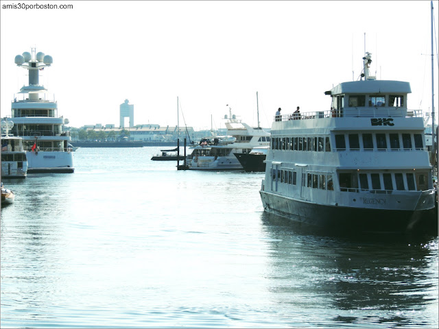Boston Harbor Islands: Ferry