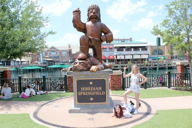A trip to Springfield in Universal Studios, Orlando. Nourish ME: www.nourishmeblog.co.uk