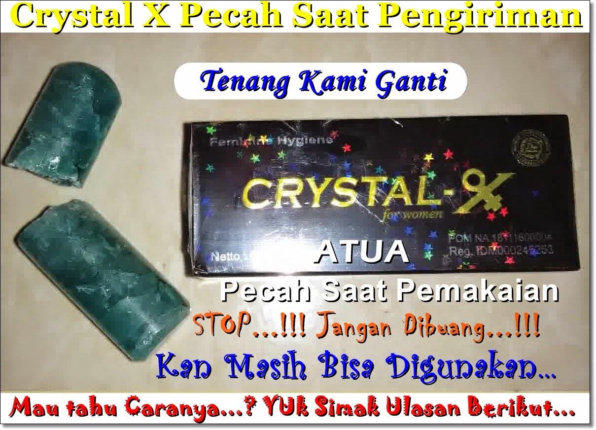 Crystal X Jatuh Dan Pecah...? Apa Masih Bisa Digunakan..?