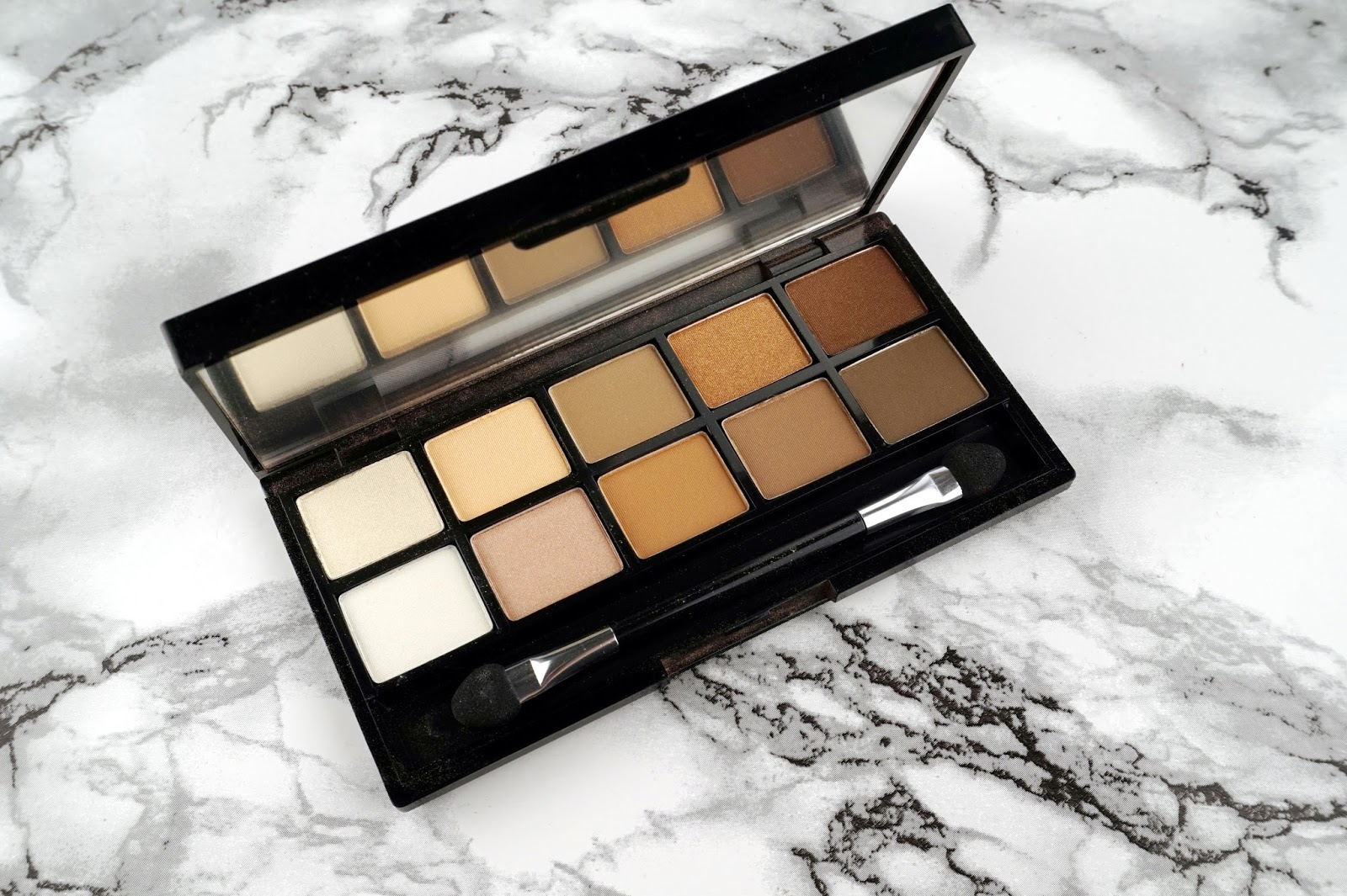 quo cosmetics fall 2016 collection neutral ground eyeshadow palette