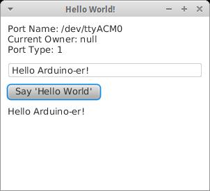 Arduino-er: Communication between Arduino and PC running Java, with