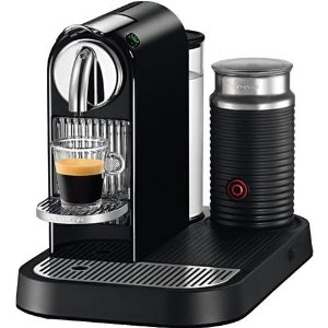 nespresso machine with milk steamer