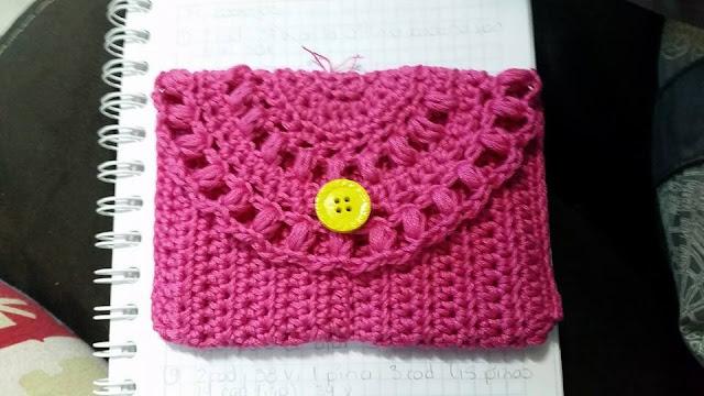 Cartera a Crochet