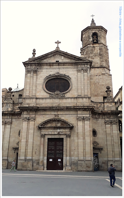 Barcelona; Conhecendo a Europa; sem guia; turismo na espanha; Bairro Gótico; Basílica de la Mare de Déu de la Merce;