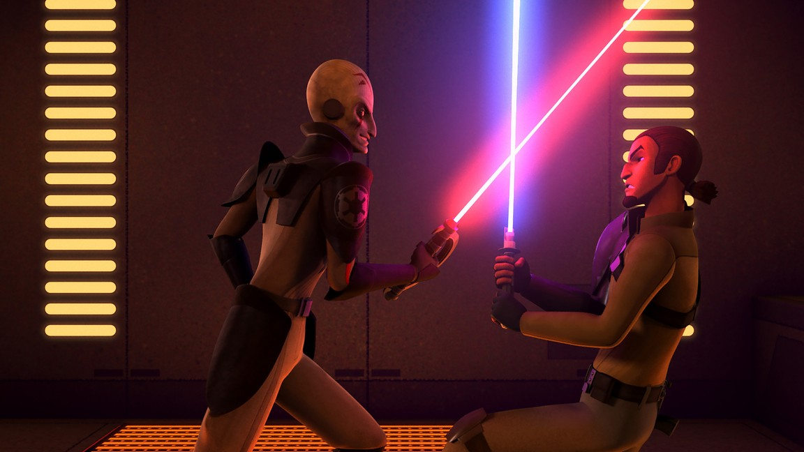 Star Wars Rebels - Season 1 Episode 04: Rise of the Old Masters