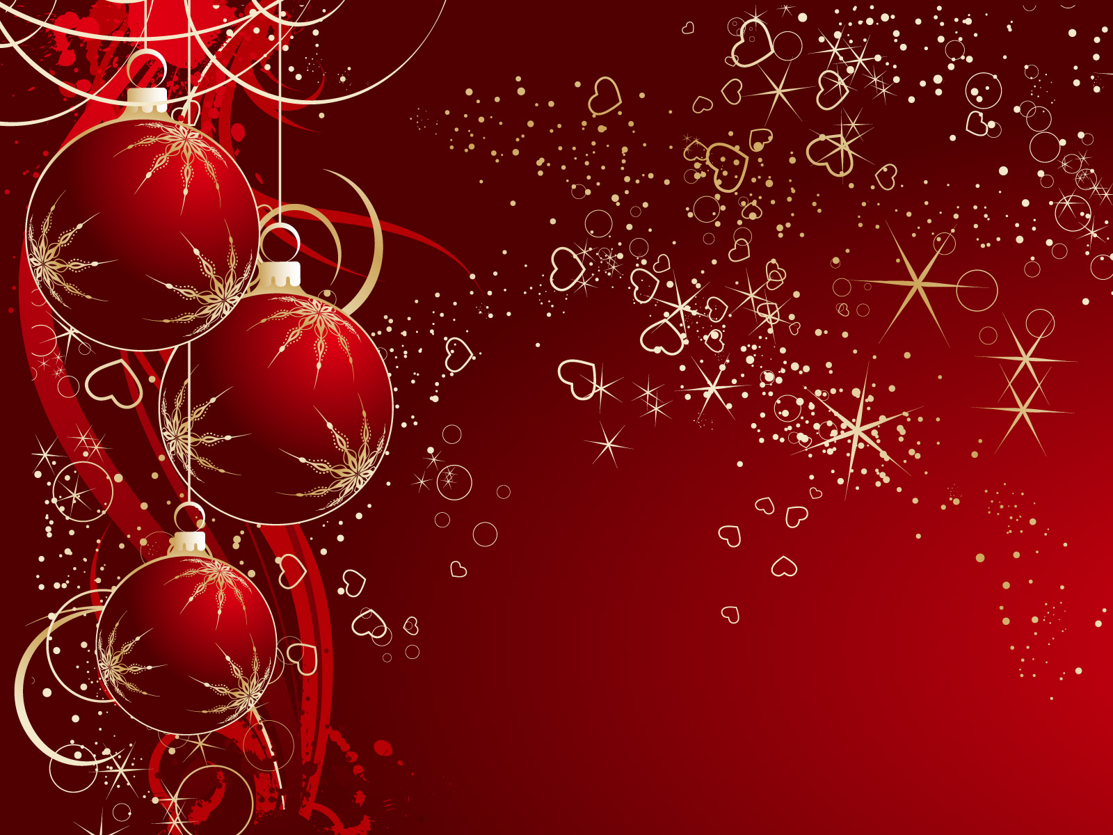 Red and white christmas wallpaper | Wallpaper Wide HD