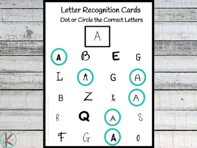 Letter Recognition Cards