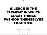 creative productive freedom likes silence