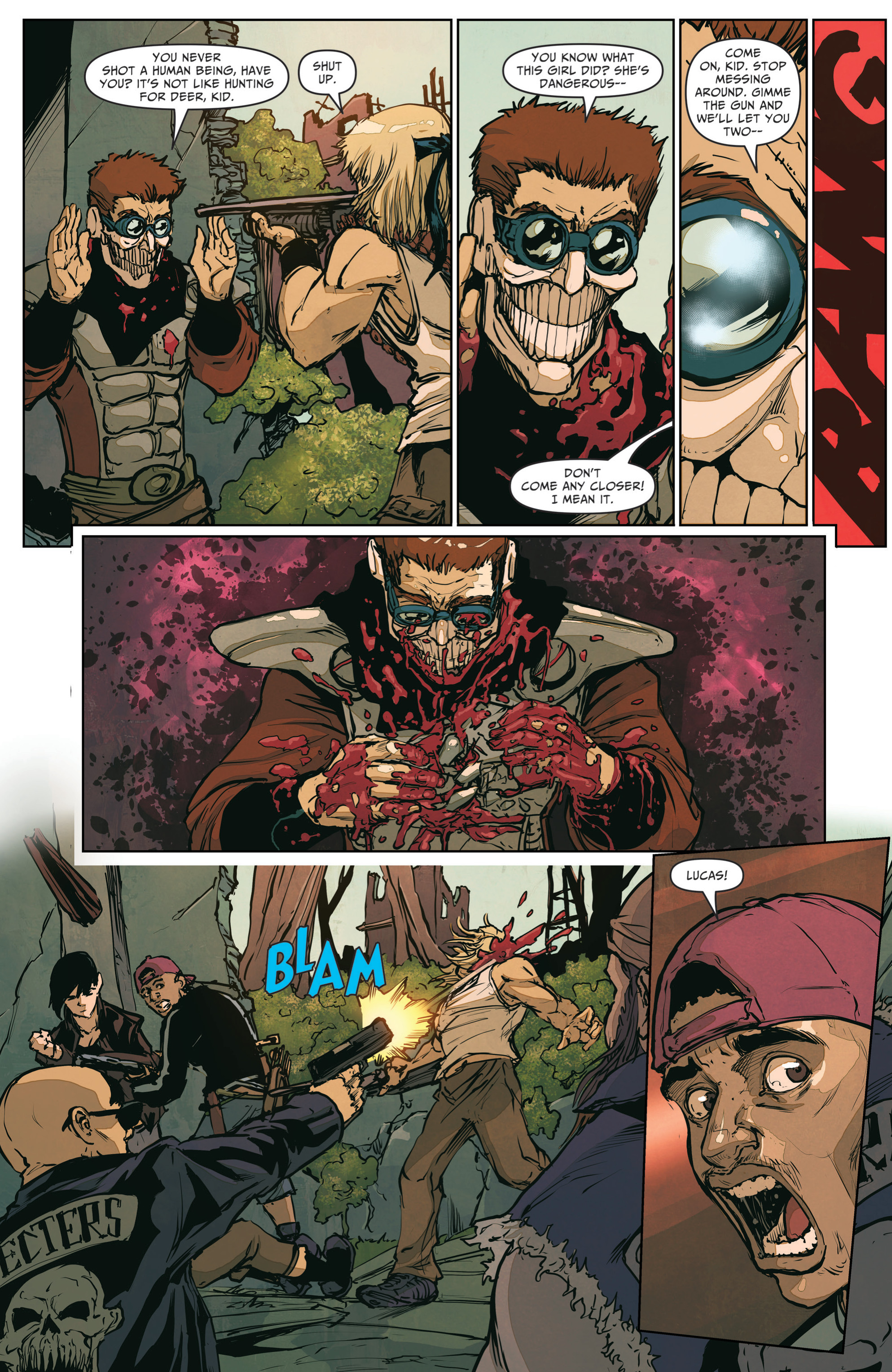 Read online The Courier: From the Ashes comic -  Issue #3 - 9