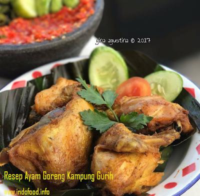 Resep Dan Cara Membuat Ayam Goreng Kampung Gurih.