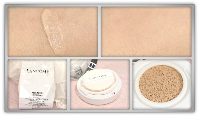 Lancôme Miracle Cushion foundation 010 Albâtre haul review beauty blogger blog high end makeup korean douglas western favorite foundation
