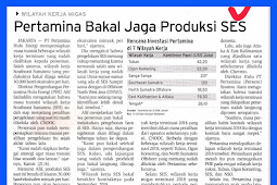 Pertamina Will Keep SES Production