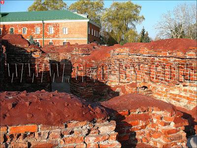 Руины Бресткой крепости