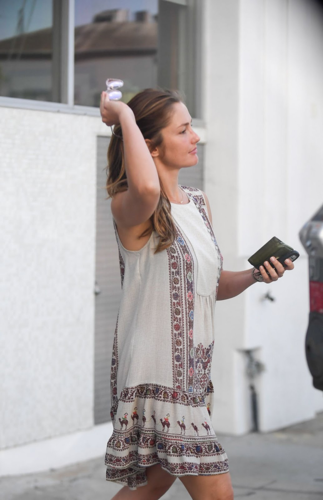Photos of Minka Kelly Out And About In Hollywood