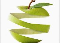 cascaras de manzana
