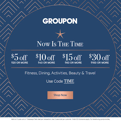 Confessions of a Frugal Mind: Groupon ~ Take $5 Off Your $20