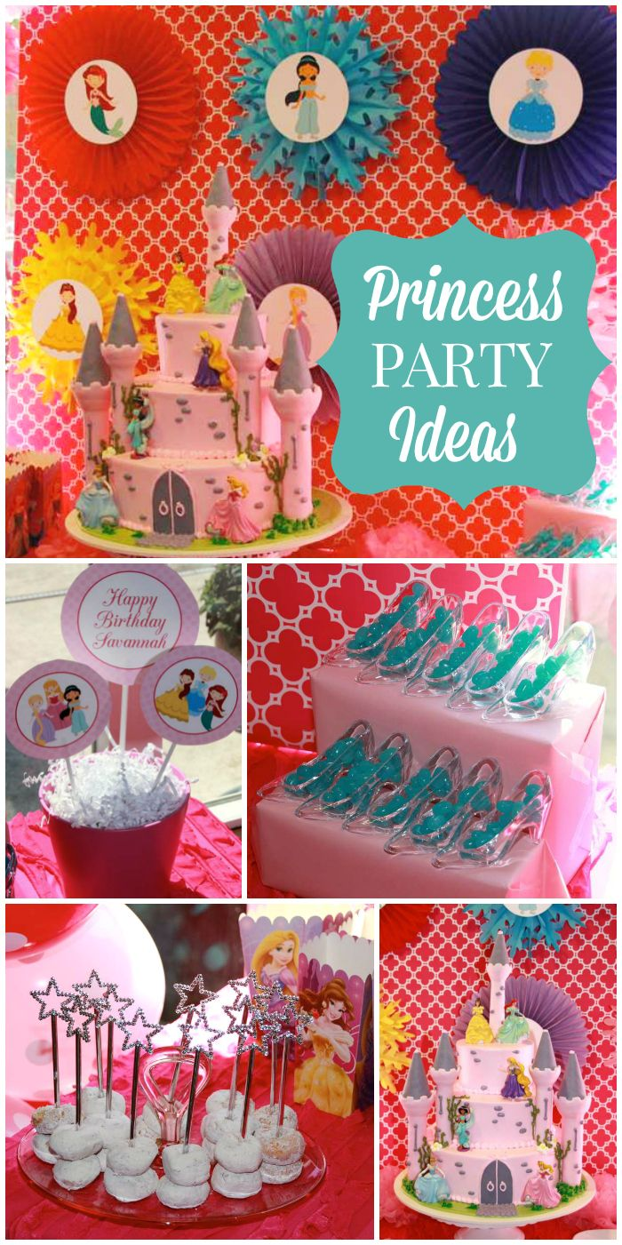 Writing Our Story: Planning a Princess Birthday Party |Princess Birthday