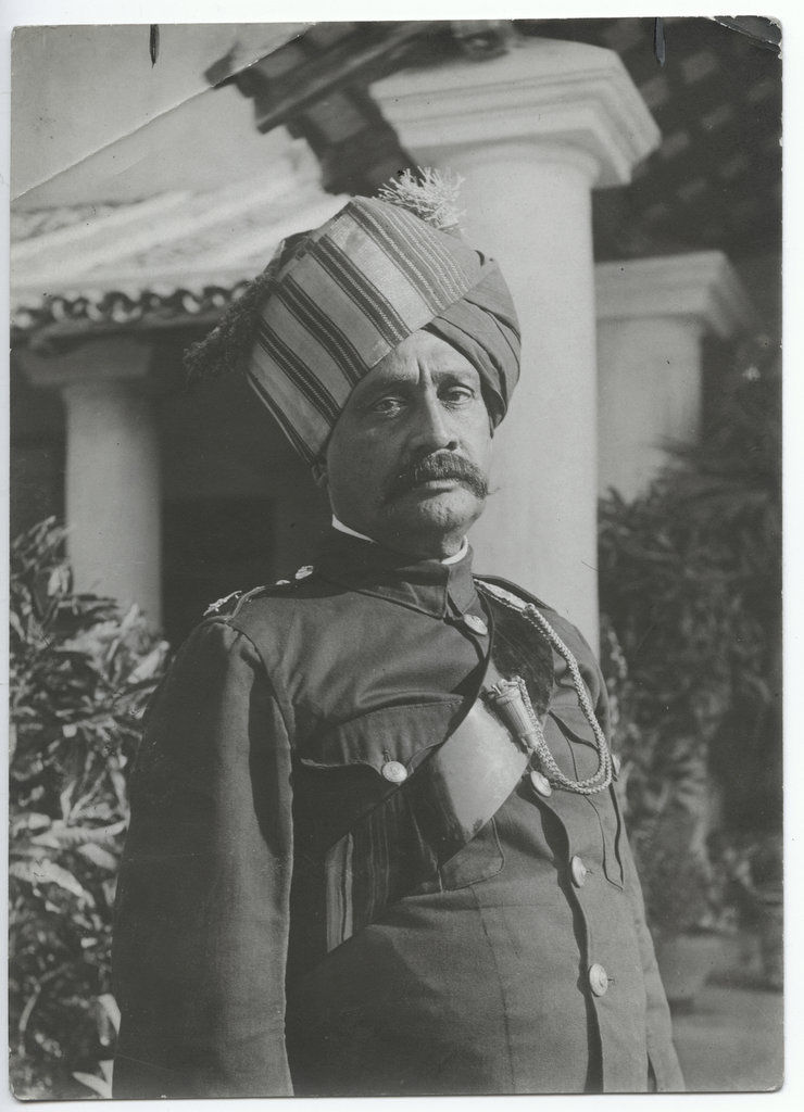 Portrait of an Indian Police - c1910's