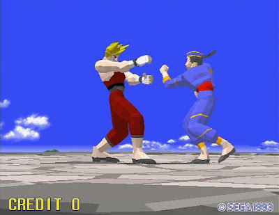 "Virtua Fighter (1993): ""We cleared an office for the staff to learn martial arts"""